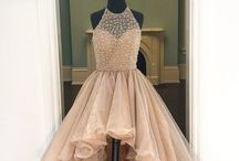 the ball gowns and mermaids