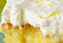 ciasto cytrynowe z kremem