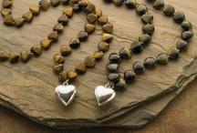 Lady Faith Jewelry / Sterling Silver Double Wrap Heart Mala $350 / by Lady Faith