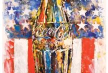 Coca cola art