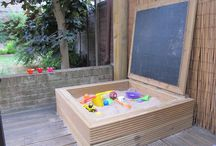 Toddler Life / Outdoor play • DIY Ideas • Toddler activities • Sensory play outside with kids