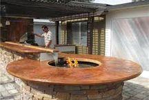 Udekøkkener / Et udendørs køkken er en optimal løsning til at inddrage haven mere i dagligdagen.