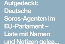 Soros Agenten im EU Parlament