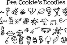 Zentangles en doodles