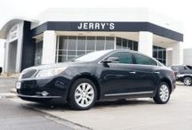 Buick / Buick vehicles are highlighted from Jerry's Buick GMC in Weatherford, TX. This board only highlights a limited selection of the vehicles we have in stock; be sure to check our website for the full inventory. For more information on any of the vehicles, call 855-224-3605 or visit www.jerrysbuickgmc.com