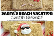 Holiday Cookies With A Beach Flavor