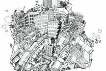 City / by Adam s