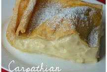 Polish Cakes and Desserts / Polish cakes, polish recipes, ciasto, polskie ciasta