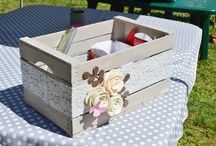 decoración cajas