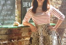 Food and Drink, Rachel Khoo / Rachel is one of my favourite chefs, love her cooking, her tiny Paris flat and clothes. A perfect petit,package.
