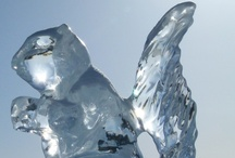 Ice and frost galore! / Ice Sculptures, icy landscapes, and everything in cold...