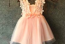 Christening Girl Dress Tulle Flowers