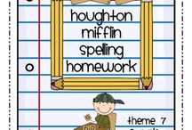 spelling and handwriting