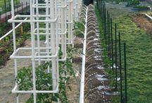 irrigare con tubi pvc - regar con tubos de pvc