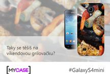 Samsung Galaxy S4 mini / Nech se inspirovat originálními kryty na Samsung Galaxy S4 mini! Začni tvořit na www.mycase.cz