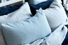 Linen crush / Create a soft, relaxing, tranquil space in your home by incorporating touches of linen.