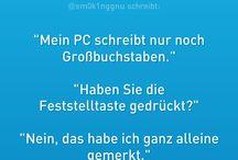 Sprüche/Witze