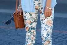 Spring Floral Fashion / by Belle Marfori