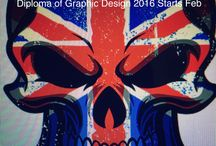 Graphic Design / Study diploma of Graphic Design at the Academy of Design