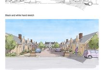 New Urban Design Group / Project sample drawings and sketches