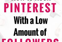 MAXIMIZING PINTEREST / All the best blog posts on how to utilize Pinterest for your best interest!