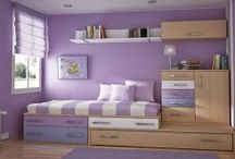 Bedroom purple