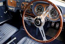 Classic car-interior / by Frederico Valsassina