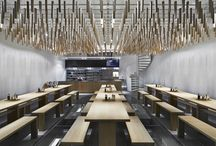 Restaurants / Japanese influenced contemporary interiors