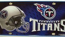 NFL Football License Plates