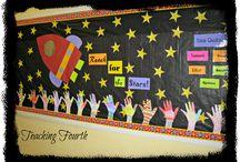 Skole - Klasserommet / Bedre organisering og støttende stillas i klasserommet.