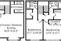 Forest Ridge Town Home / Spacious Two Bedroom Town Home  Square Feet: 1008  $1249 - $1299