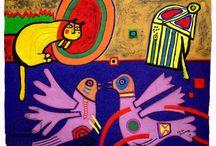CoBrA and Art Brut movement