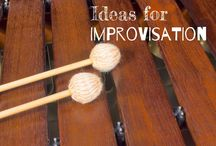 Classe de musique /improvisation