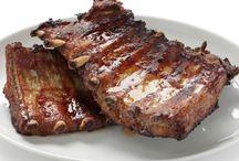 JÍDLO  -  vepřové maso  /  pork