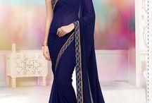 2600 Lotus vol 6 Moss Chiffon Party wear sarees