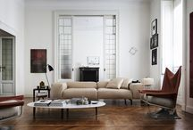 News 2015 - SCIGHERA, design Piero Lissoni / Seating system composed by two-seater sofa, modular corner units and single or two-seater end units (left and right side), a modular chaise lounge (left or right side) and optional cushions.