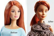 OOAK Barbie / This board is for OOAK Barbies, repaints, reroots, etc. that I love #OOAKBarbie #OOAKDoll #Repaint #Reroot #OOAKActionFigure