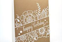 Birthday - Cards