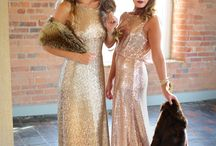 All that Glitters / Sparkly Sequin Bridesmaids Dresses