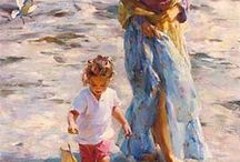 Michael & Inessa Garmash / Paintings