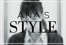 Ana's Style / Fashion & style inspired by the wardrobe of Dakota Johnson (Anastasia Steele) in the upcoming movie Fifty Shades of Grey. / by Fifty Shades of Grey