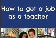 How to get a job as a teacher