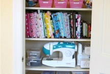 Organization: Sewing, Craft rooms