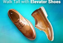 Height Increasing Elevator Shoes / Add inches to your height secretly with Elevator Shoes.