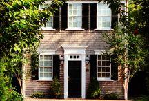 exterior door pilasters and pediments