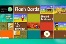 Bible Timeline Flashcards / Sunday school resources by The Bible Curriculum