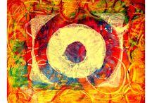 Gelli art / by carol myers