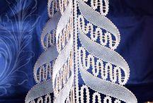 bobin lace christmas