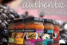 What's in the Jar  / We produce 51 variations of our sauces, and that they're all halal, vegan, vegetarian and suitable for coeliacs and those with allergies.