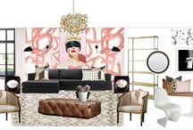 The Lovely Theory Living Room